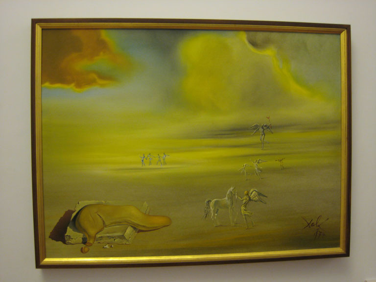 salvador dali is part of the modern art collection at the vatican museum. Black Bedroom Furniture Sets. Home Design Ideas