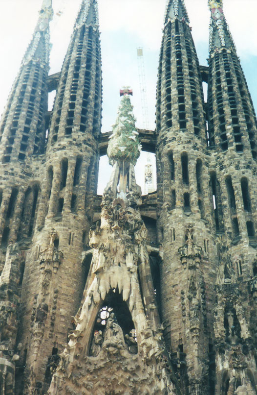 La sagrada familia barcelona spain for La sagrada familia barcelona spain