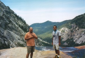 Mike and I along the Hamilton Lake trail