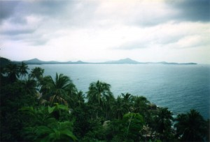 View from above Koh Samui.