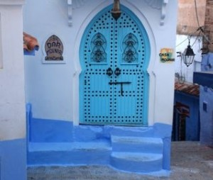 Colorful Moroccan Doorway