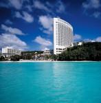 Guam island bay view