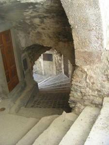 Stairwell in Castel-del-Monte